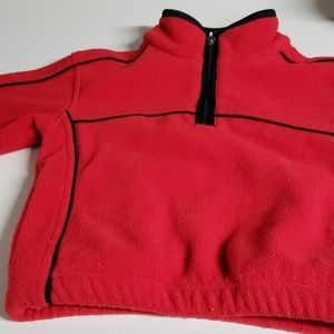 Thick warm fleece jacket